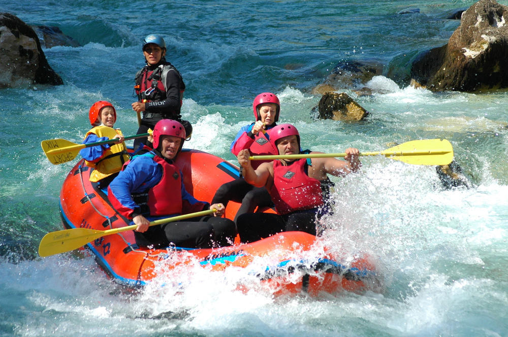 Rafting Bovec