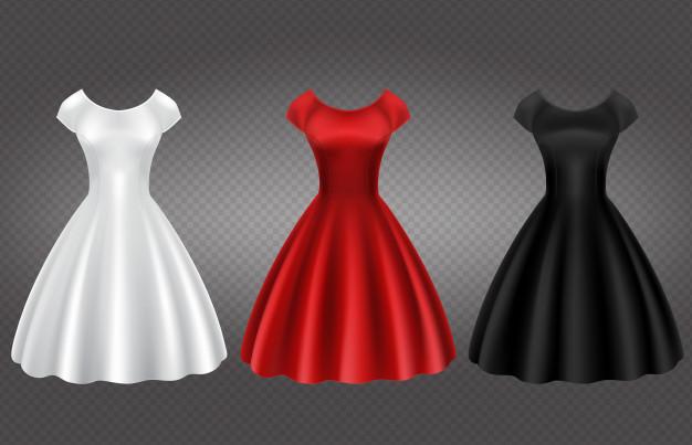 elegantne obleke za močnejše